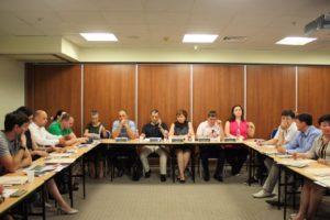Участники встречи «Экономическая безопасность бизнеса»